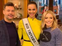 Miss Universe Catriona Gray highlights Filipino mom, fans, Philippines on Kelly and Ryan, Good Morning America