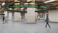 1st Philippine subway equipped with disaster-resilient Japanese technology now underway