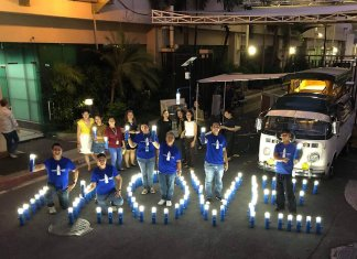 ABS CBN Liter of light solar lamps