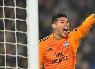 Cardiff City Best Player Football goalkeeper Neil Etheridge
