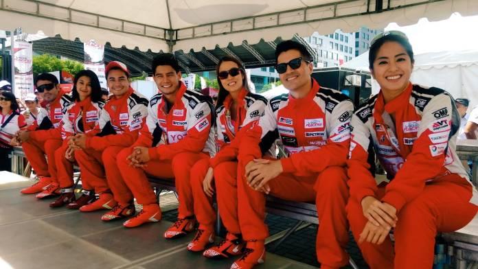 Celebrities Toyota Motors Circuit Championship