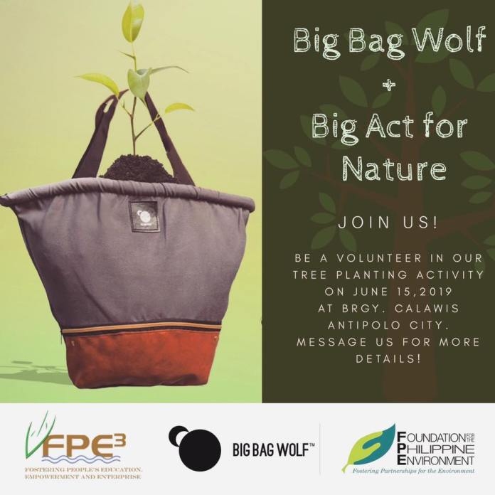Big Bag Wolf Reforestation