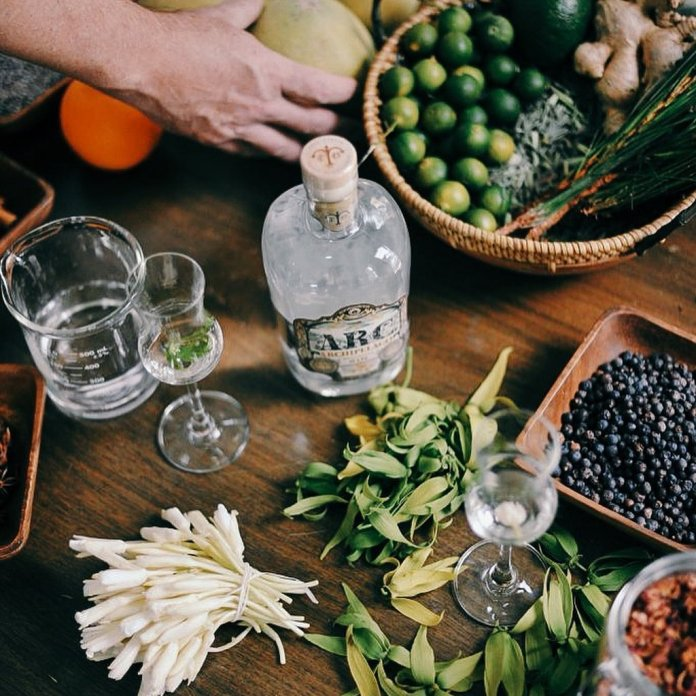 first Filipino gin mix