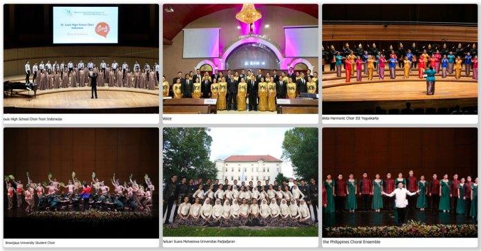 Cultural center choral grand prix