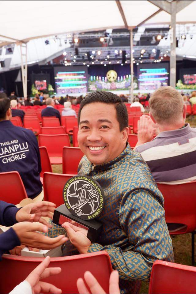 Ramon Lijauco Jr. wins Most Outstanding Conductor