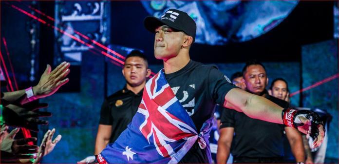 Australian champion Martin Nguyen