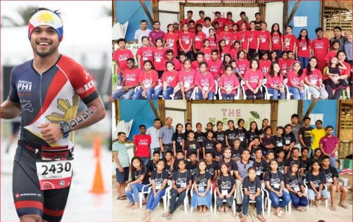 "Abu dhabi filipino triathlete Romeo ""Oreo"" Puncia"
