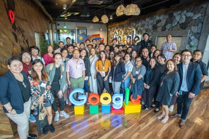 Google Philippines Newsgathering