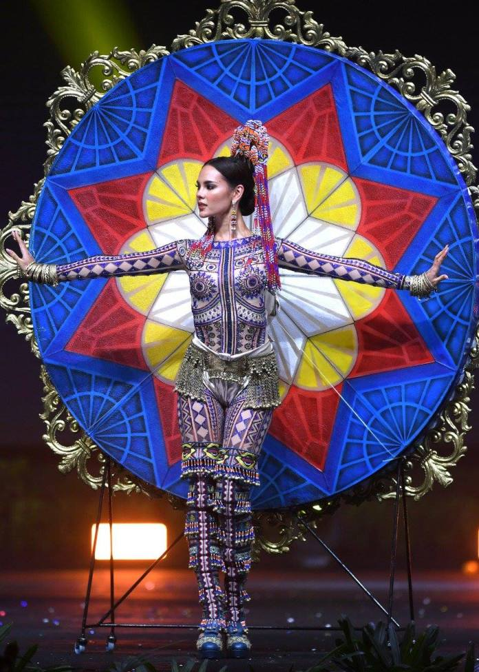 Catriona Gray national costume