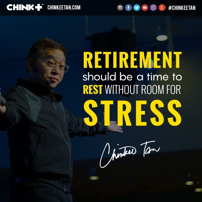 Chinkee Tan Retirement 5 W's