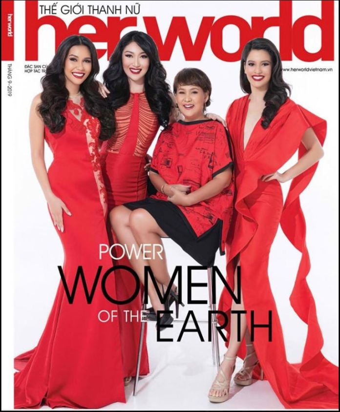 Filipinas Her World Vietnam's cover