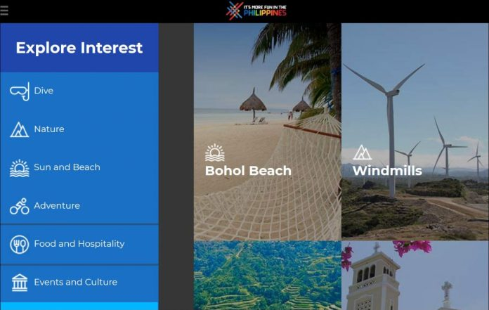 Philippines revamped tourism website