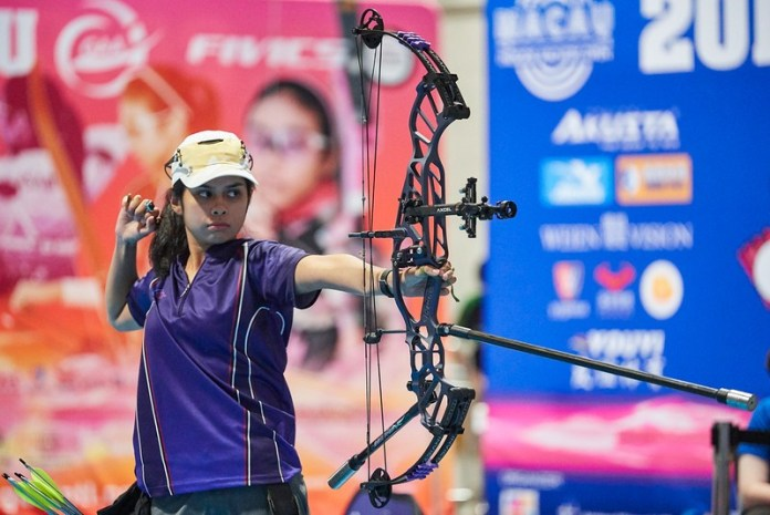 Atenean archer Andrea Robles