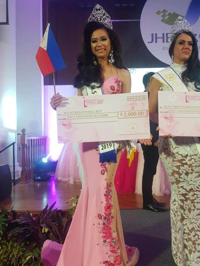 Vanessa Quezon Ms International