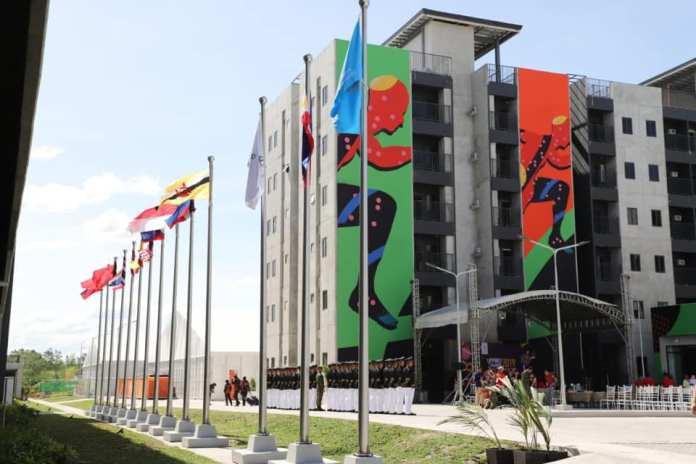 Sea Games Village facilities