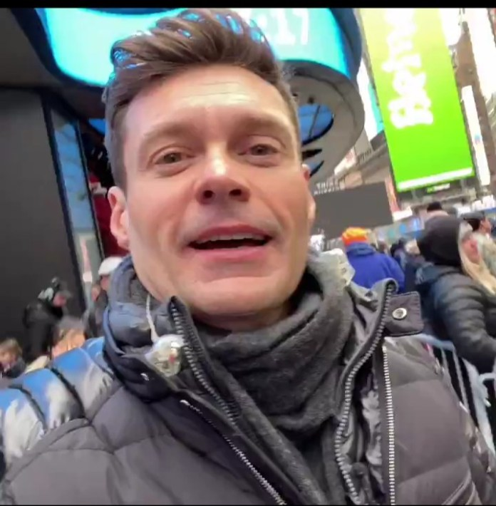 Ryan Seacrest Filipino New Year