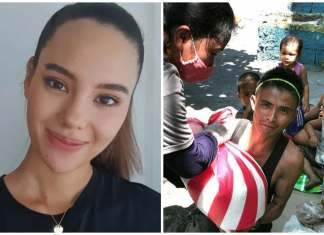 Catriona Gray feed families in Smokey Mountain