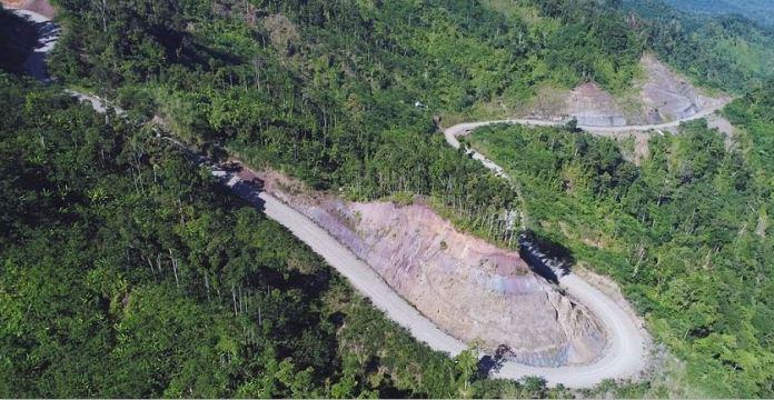 Surigao Agusan farm-to-market road