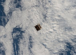 Diwata 1 microsatellite