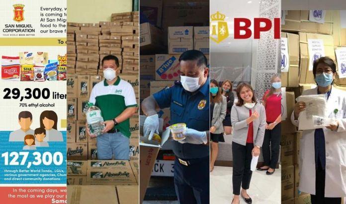 Philippine COVID-19 donations