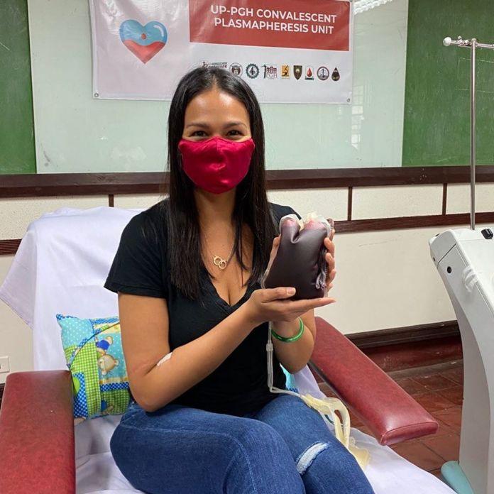 COVID-19 survivor Iza Calzado