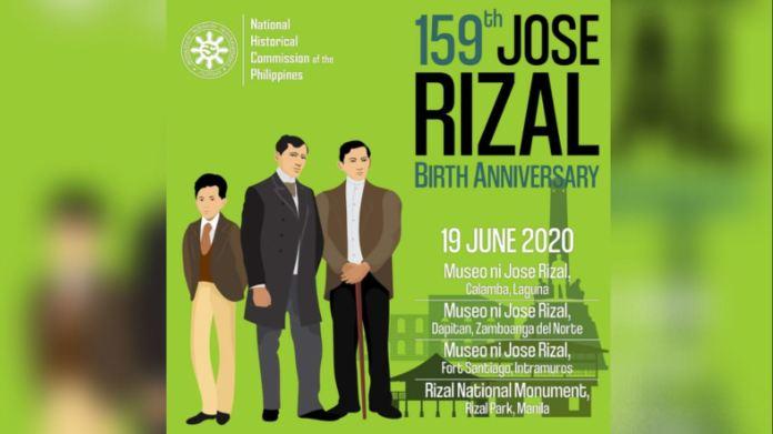 Jose Rizal 159th birth anniversary