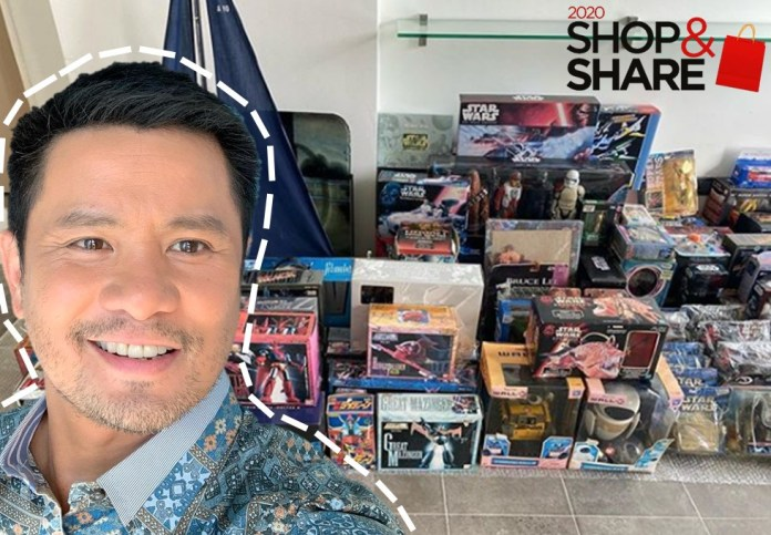 Ogie Alcasid donates toy collectibles