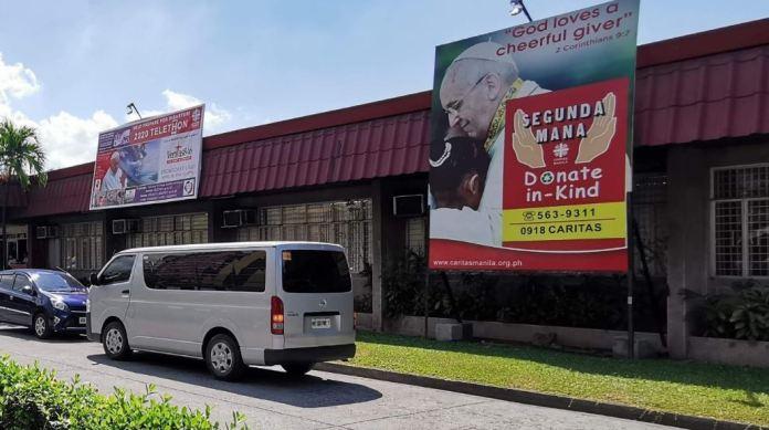Condo residents donates to Caritas' Segunda Mana charity