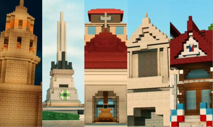 Von Brix Caliva Minecraft Filipino pride symbols