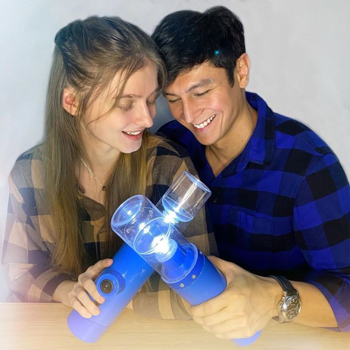 Joseph Marco and Darja Ramanova