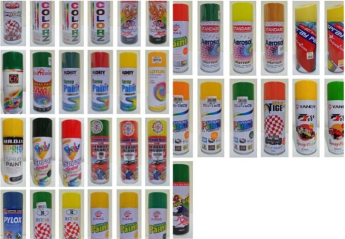Philippines Banned spray paints