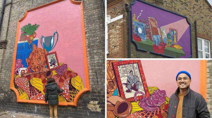 Fil-British Pio Abad's murals