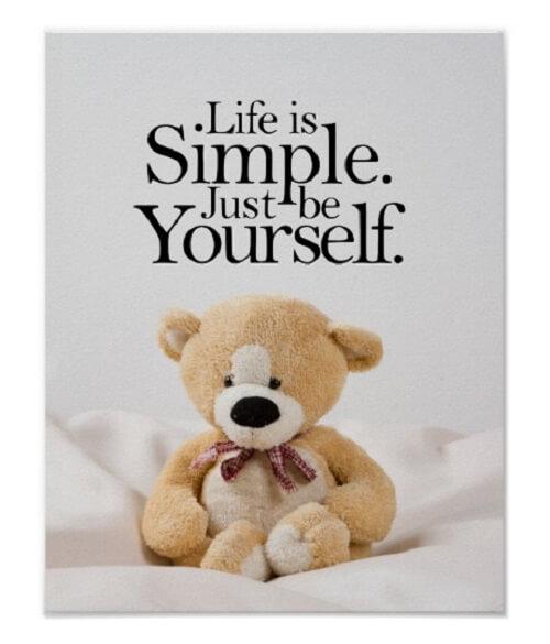 teddy bear dp image status