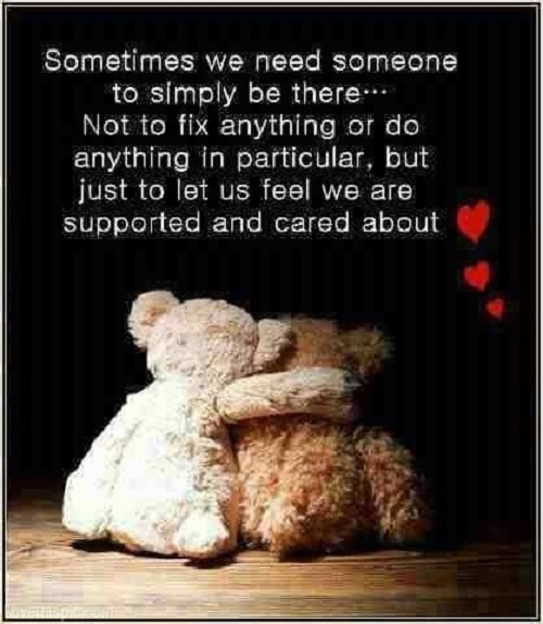 teddy bear poster with quote