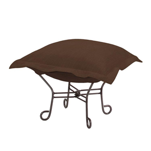 puff rocking chair replacement covers inner balance zero gravity shop rocker free shipping ottoman brown