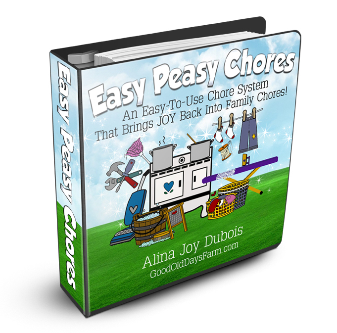Easy Peasy Chores Cover