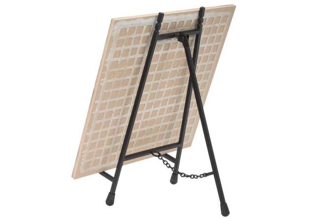easel for photo tile