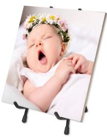 Ceramic Photo Tile with Stand