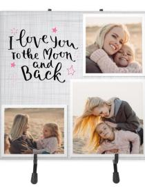 love you ceramic photo tile
