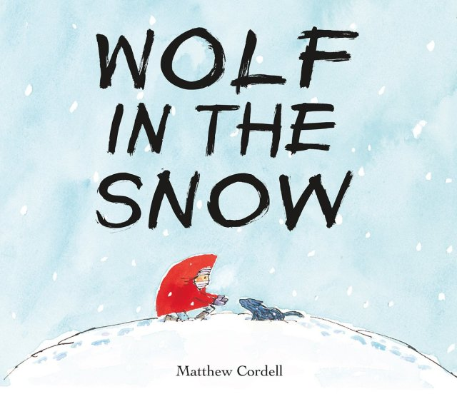 Wolf in the Snow cover image