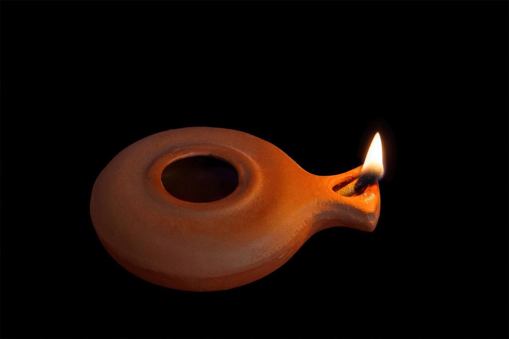 Biblical Oil Lamp