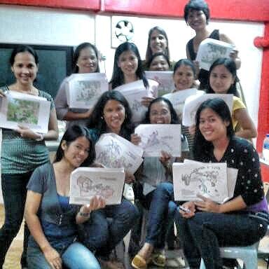 Filipino Bible study group