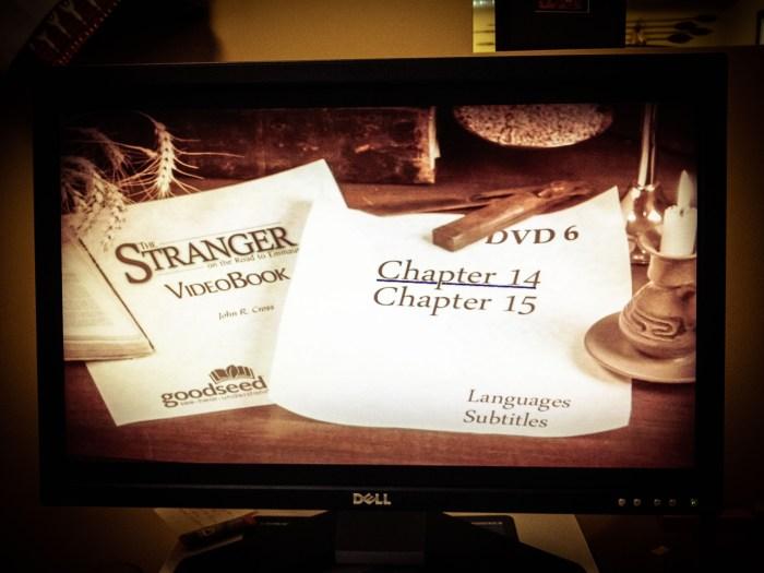 The Stranger Videobook