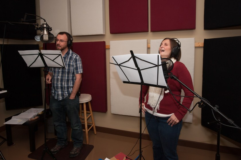 By This Name audiobook recording