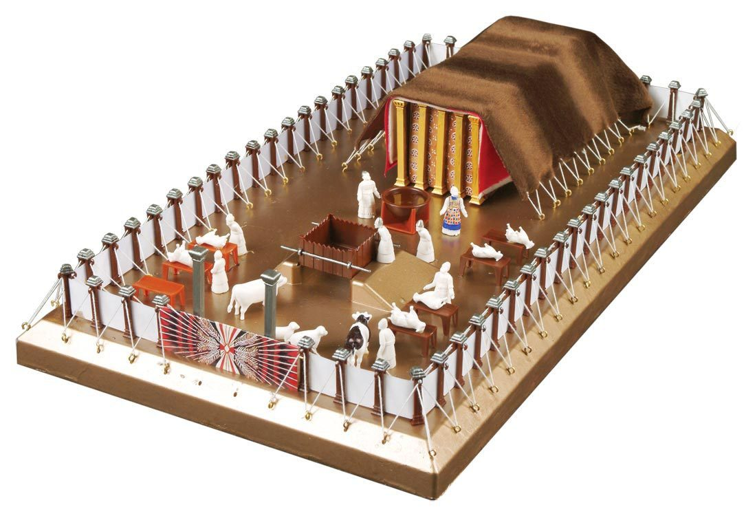 The Tabernacle Model Kit  sc 1 st  GoodSeed & Free Bible Study: The Hebrew Tabernacleu2014A Model of Messiah u2013 The ...