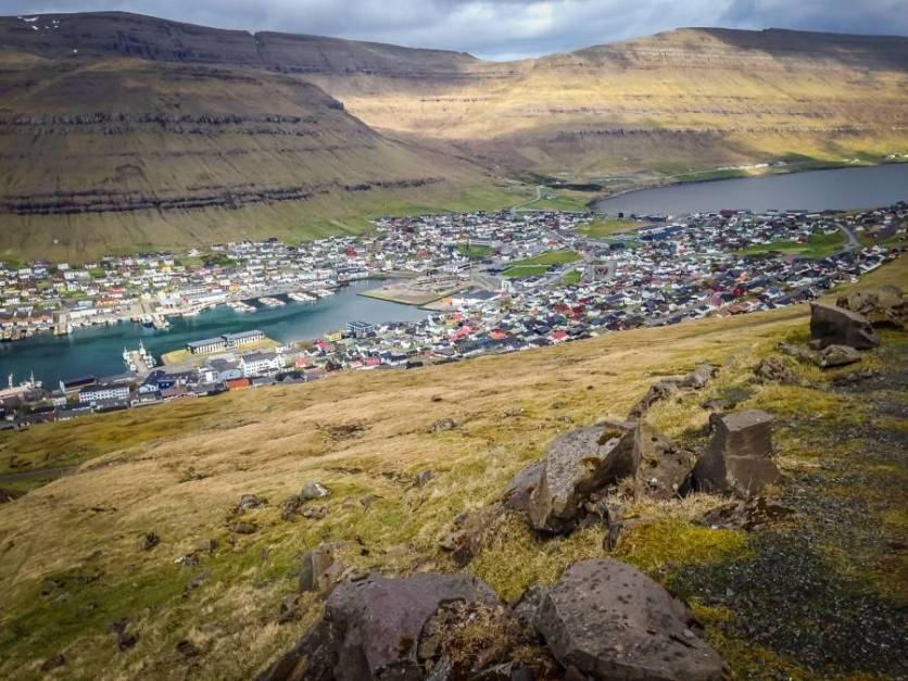 A town in the Faroe Islands