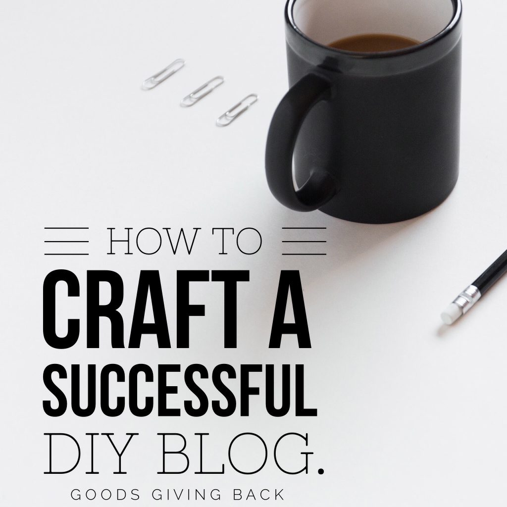 How to become a successful DIY blogger
