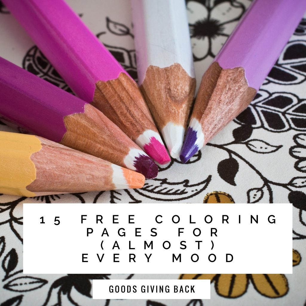 15 adult coloring pages for every mood