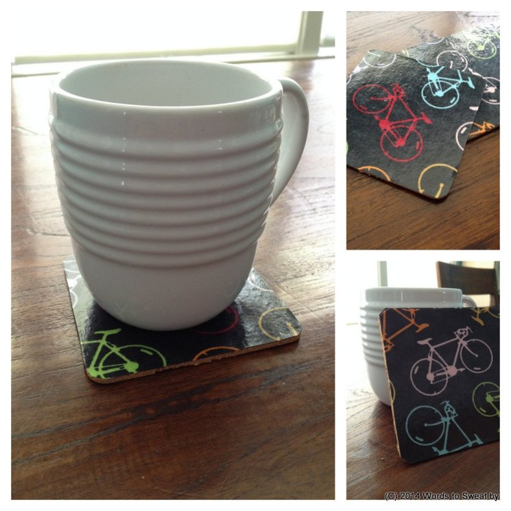 Awesome outdoor entertaining with DIY fabric drink coasters