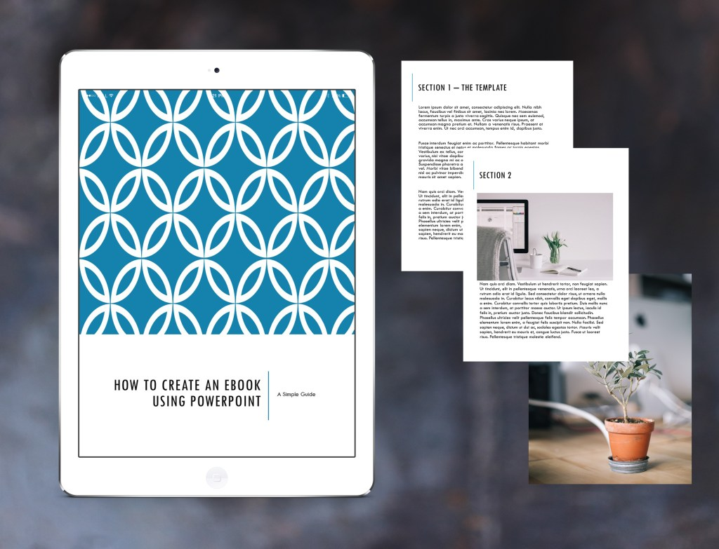 How to Create an Awesome Ebook Using PowerPoint {Part 5} by Joelle at Vardo Media via a guest post on Goods Giving Back
